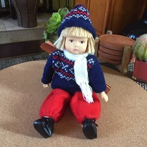 Vintage Norway Norwegian Doll